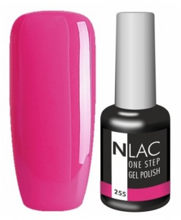 NLAC One Step gel lak 255 - fuchsie