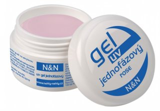 Jednofázový rose N&N UV gel - 15ml