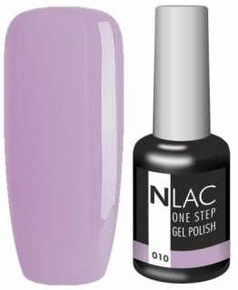 NLAC One Step gel lak 010 - fialová