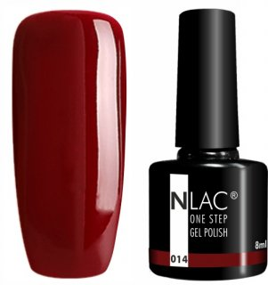 NLAC One Step gel lak 014 - Hnědá