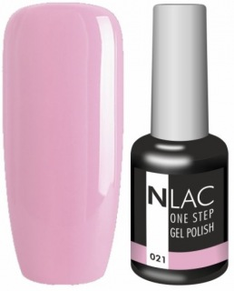 NLAC One Step gel lak 021 - starorůžová
