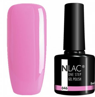 NLAC One Step gel lak 046 - Růžová