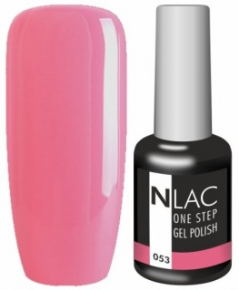 NLAC One Step gel lak 053 - jahodová
