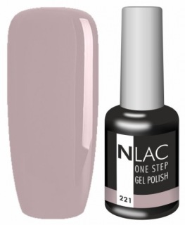 NLAC One Step gel lak 221 - nude