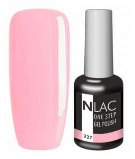 NLAC One Step gel lak 227 - růžová