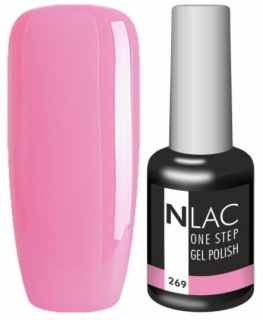 NLAC One Step gel lak 269 - růžová
