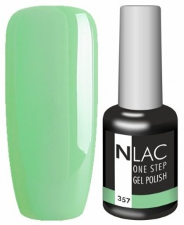 NLAC One Step gel lak 357 - zelená