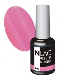 NLAC One Step gel lak - růžová