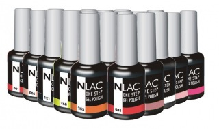NLAC One Step gel lak - sada 10 ks