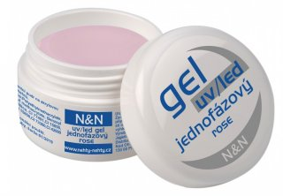 UV/LED jednofázový rose gel N&N 5ml
