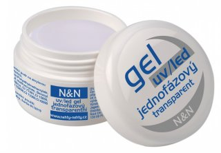 UV/LED jednofázový transparentní gel N&N 5ml